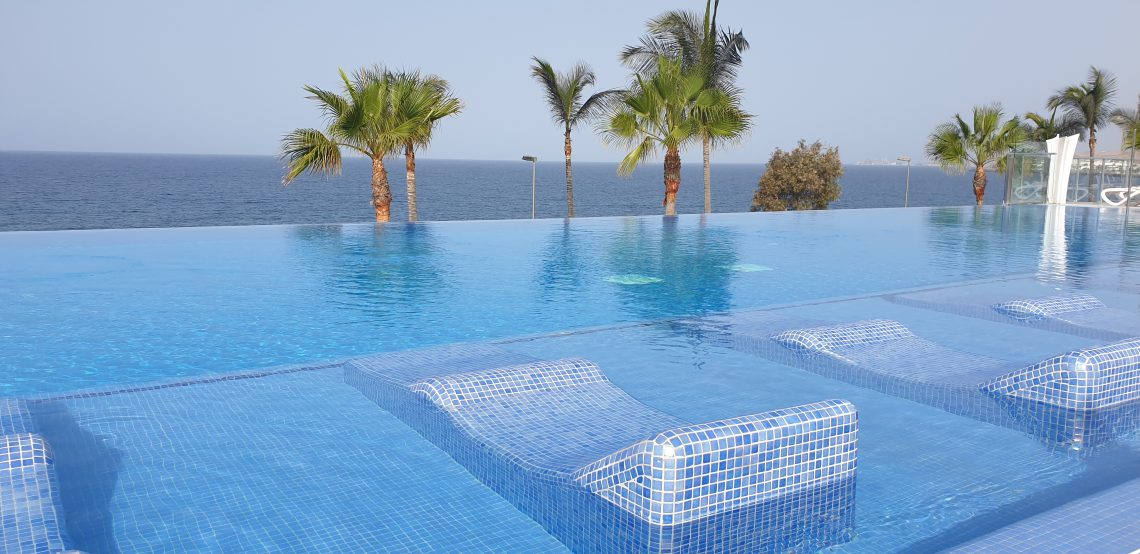 Infinity pool Gran Canaria